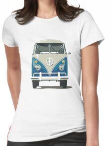 VW Split Screen Womens Fitted T-Shirt