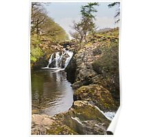 Waterfall in the Yorkshire dales Poster