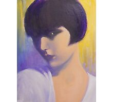 MYSTERIOUS LADY Photographic Print