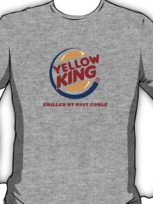 Yellow King Grilled Rust Logo T-Shirt