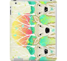 Roots To Grow and Wings To Fly (Three Deer New Dawn) iPad Case/Skin
