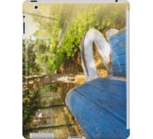 Bench In Garden iPad Case/Skin