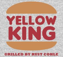 Yellow King Grilled Rust Logo 2 by Prophecyrob