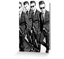 O BOYZ Greeting Card