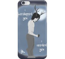 I Worshiped You iPhone Case/Skin