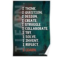 I Learn Poster