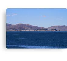 Pyramid Lake, Sutcliffe Nevada USA Canvas Print