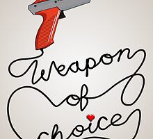 Weapon of Choice (2014 Revamped Version) by sheakennedy