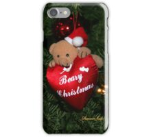 Beary Christmas ~ Tree Decorations iPhone Case/Skin