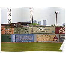 Old Time Baseball Field Poster