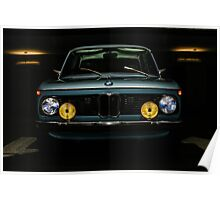 Vintage BMW 2002 Poster