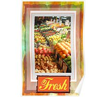 Farm Fresh Market Poster