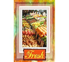 Farm Fresh Market Photographic Print