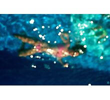 Trapped in water Photographic Print