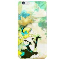 Forest Fox Girl iPhone Case/Skin
