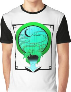 Windows Hair Seafoam Graphic T-Shirt