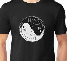 Yin Yang Pisces Fish Unisex T-Shirt