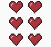 8-Bit Love Heart ×6 by gam3r
