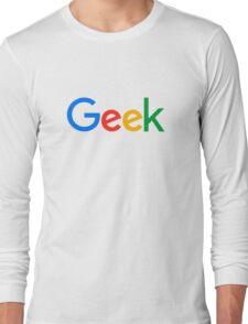 Geek Long Sleeve T-Shirt