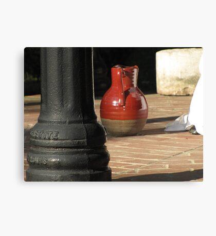water pitcher Canvas Print