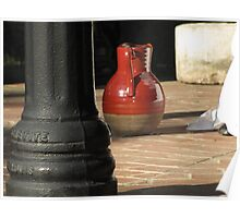 water pitcher Poster