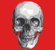 Human Skull Kids Tee