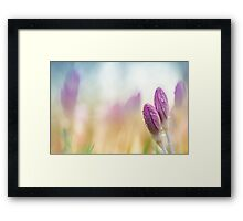 The two of us together.... Framed Print