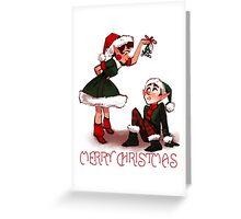 Elf Cuties Greeting Card