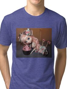 Greedy doll Tri-blend T-Shirt