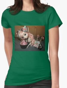 Greedy doll Womens Fitted T-Shirt