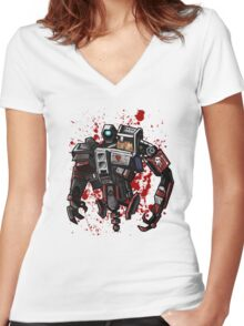 Deathtrap Women's Fitted V-Neck T-Shirt