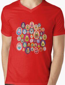 doll matryoshka Mens V-Neck T-Shirt