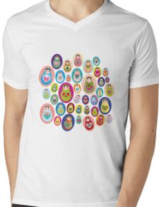 doll matryoshka Mens V-Neck T-Shirt