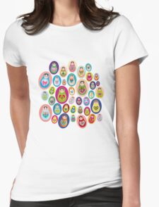 doll matryoshka Womens Fitted T-Shirt