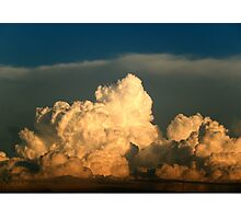 BEAUTIFUL STORM CLOUDS Photographic Print