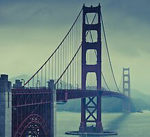 San Francisco - Golden Gate by mpogorzelski