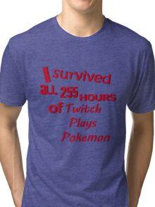 Twitch BEATS Pokemon Tri-blend T-Shirt