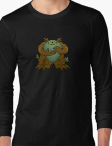Green Man Long Sleeve T-Shirt