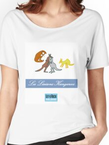 Les Liaisons Kangaroos Women's Relaxed Fit T-Shirt