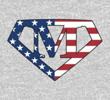 Super American M Logo by TheGraphicGuru