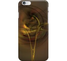 yellow fluid iPhone Case/Skin
