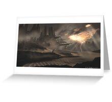 Dune Ruins Greeting Card