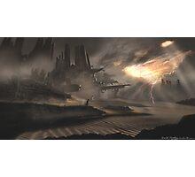 Dune Ruins Photographic Print