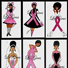 Breast Cancer Card Collection by Stacy LeGras