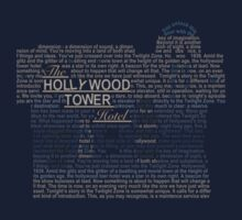 The Hollywood Tower Hotel Kids Tee