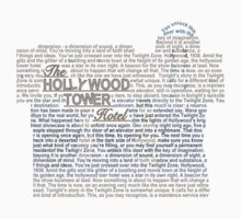 The Hollywood Tower Hotel Kids Clothes