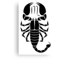 Scorpio Scorpion Canvas Print