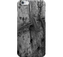 Old Fence Post iPhone Case/Skin