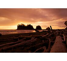 Drifting into Sunset Photographic Print