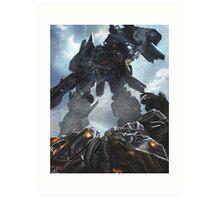 Power Up optimus prime Art Print